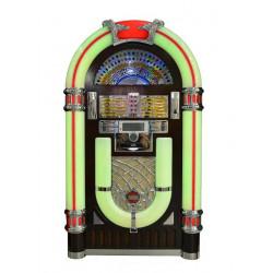 jukebox con tocadiscos