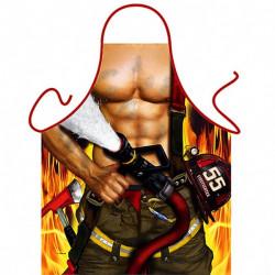 Delantal sexy bombero - regalos originales para hombre