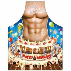 Delantal feliz cumpleaños - regalos originales para hombre