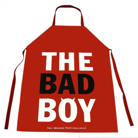 """DELANTAL """"THE BAD BOY"""""""