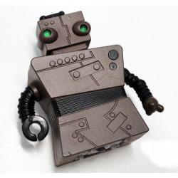 Mini robot radiontrolado