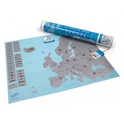 Mapa de rascar Europa - Regalos para Hombres