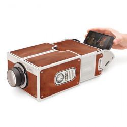 Proyector de cartón para smartphone - Regalos  originales para Hombre
