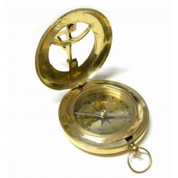 Brújula con reloj solar -  Regalos para Hombre
