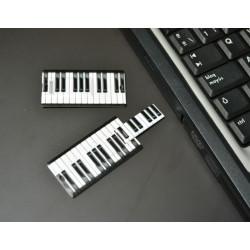"""Pendrive extraplano """"piano"""" de 16GB - regalos originales y curiosos"""
