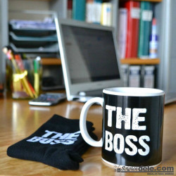 "Imagén: SET TAZA Y CALCETINES ""THE BOSS"""