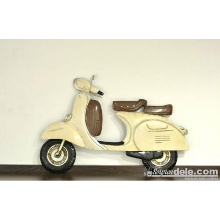 Aplique scooter blanca - Regalos para hombres