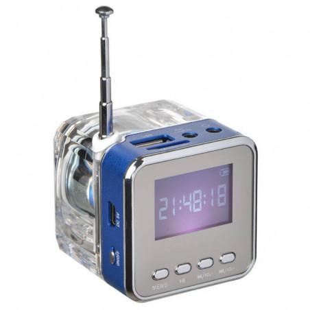 MINI ALTAVOZ Y REPRODUCTOR MP3 CON RADIO