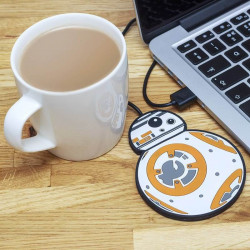 CALIENTATAZAS USB STARWARS BB8