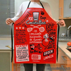"Imagén: DELANTAL ""COCINILLAS"""