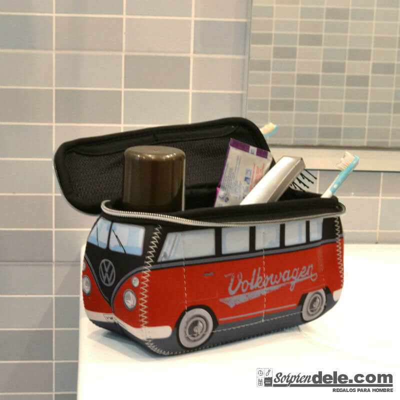 MINI NECESER CAMPERVAN ROJO