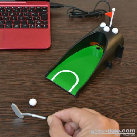 MINI GOLF USB CON RETORNO para jugar