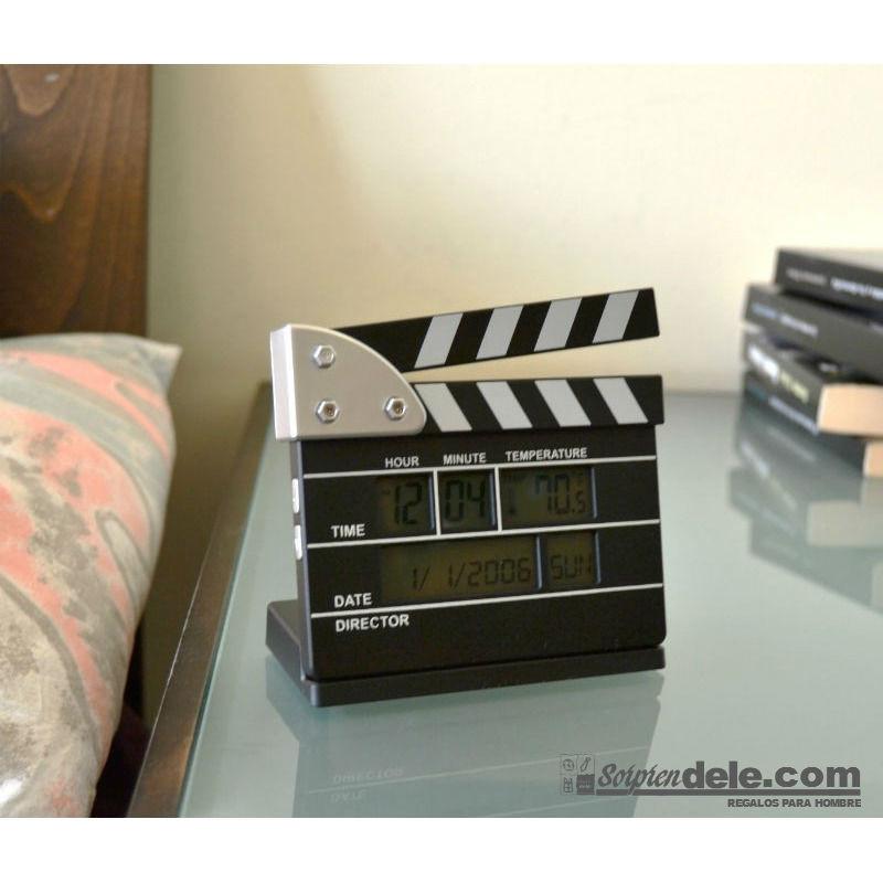 despertador claqueta - regalos de cine