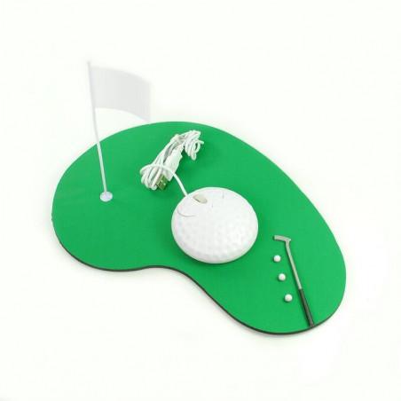 alfombrilla ratón juego golf