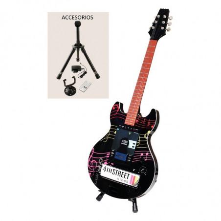 Radio CD MP3 con forma de guitarra eléctrica - Regalos para hombre