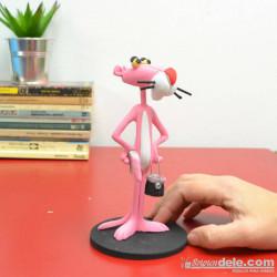 Figura resina pantera rosa