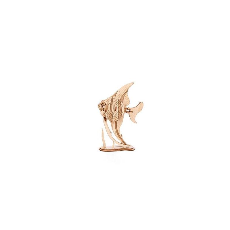 puzzle 3D caballito de mar