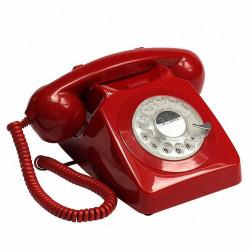 RÉPLICA TELÉFONO RETRO ROJO