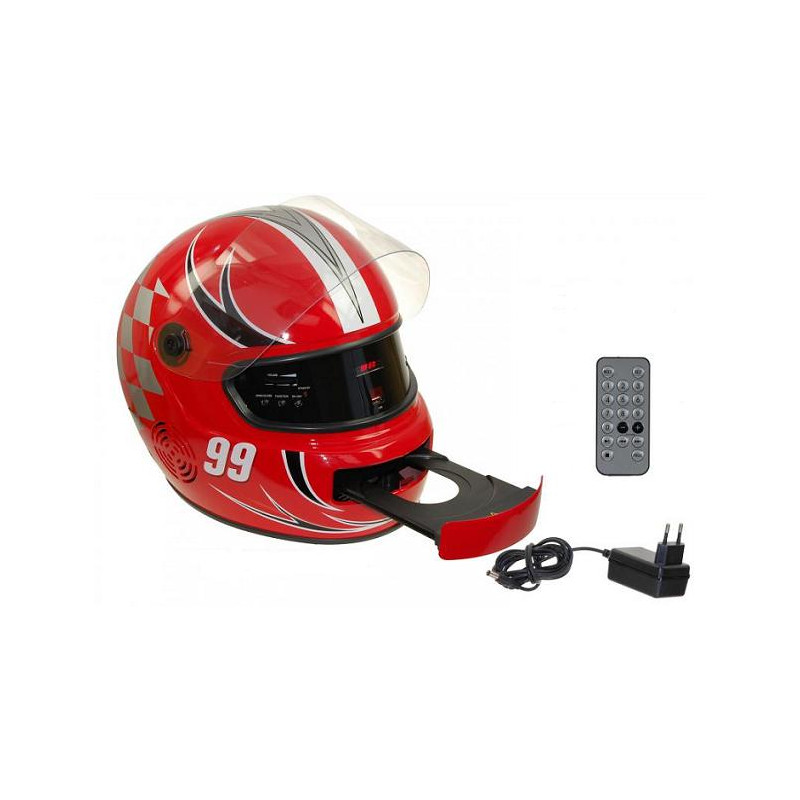 Radio cd usb casco moto sorpr ndele regalos para hombre for Moto regalasi