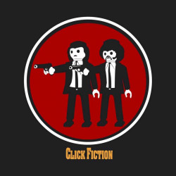 camiseta Click Fiction