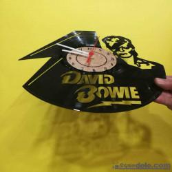 RELOJ DISCO DE VINILO DAVID BOWIE