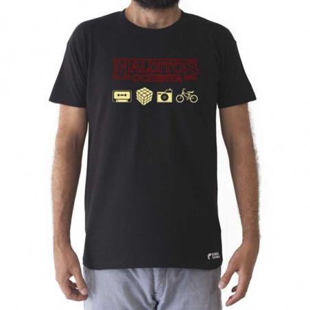 camiseta malditos 80