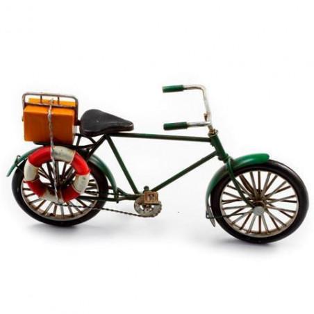 Figura bicicleta de metal