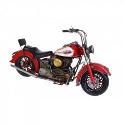 Figura moto de latón