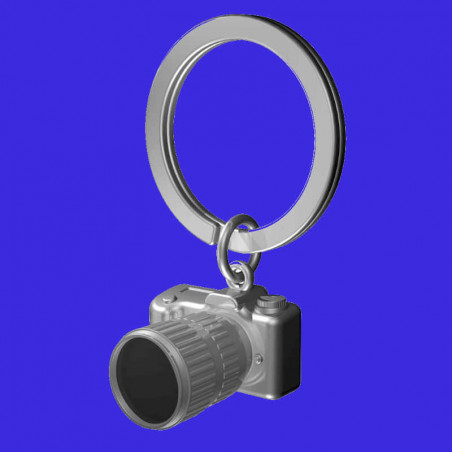 llavero cámara de fotos