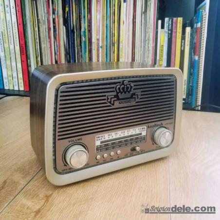 RADIO ALTAVOZ RETRO VINTAGE