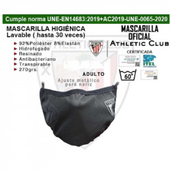 MASCARILLA OFICIAL ATHLETIC CLUB DE BILBAO