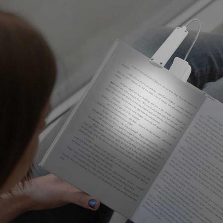 lámpara de libros recargable