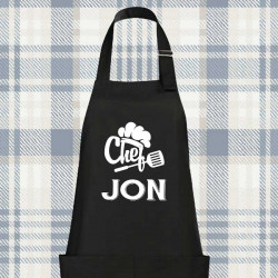 DELANTAL PERSONALIZADO CHEF