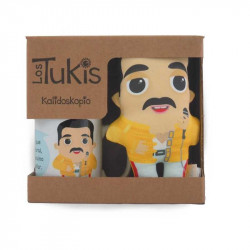Pack taza y mini Tuki de Freddie Mercury