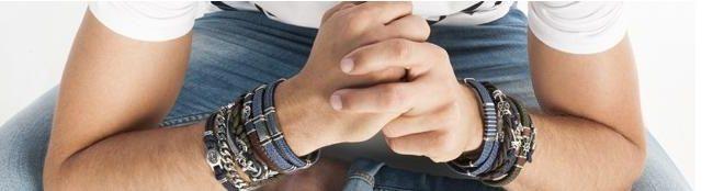 pulseras de hombre