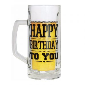 jarra cerveza happy birthday
