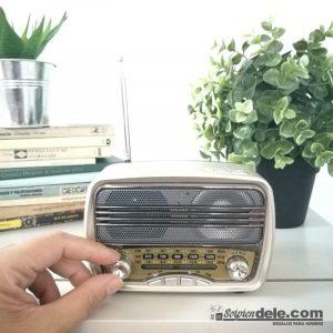 radio altavoz bluetooth